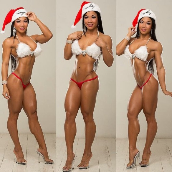 Tina Nguyen in triplicate.