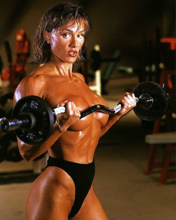 This old school photo of Cory Everson still gives us chills all these years later.