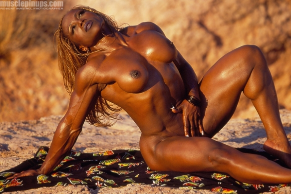 A very sultry Desiree Ellis.