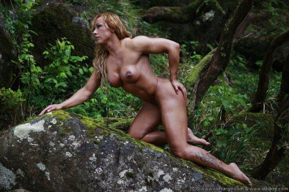 The real Jungle Woman: Rita Sargo.
