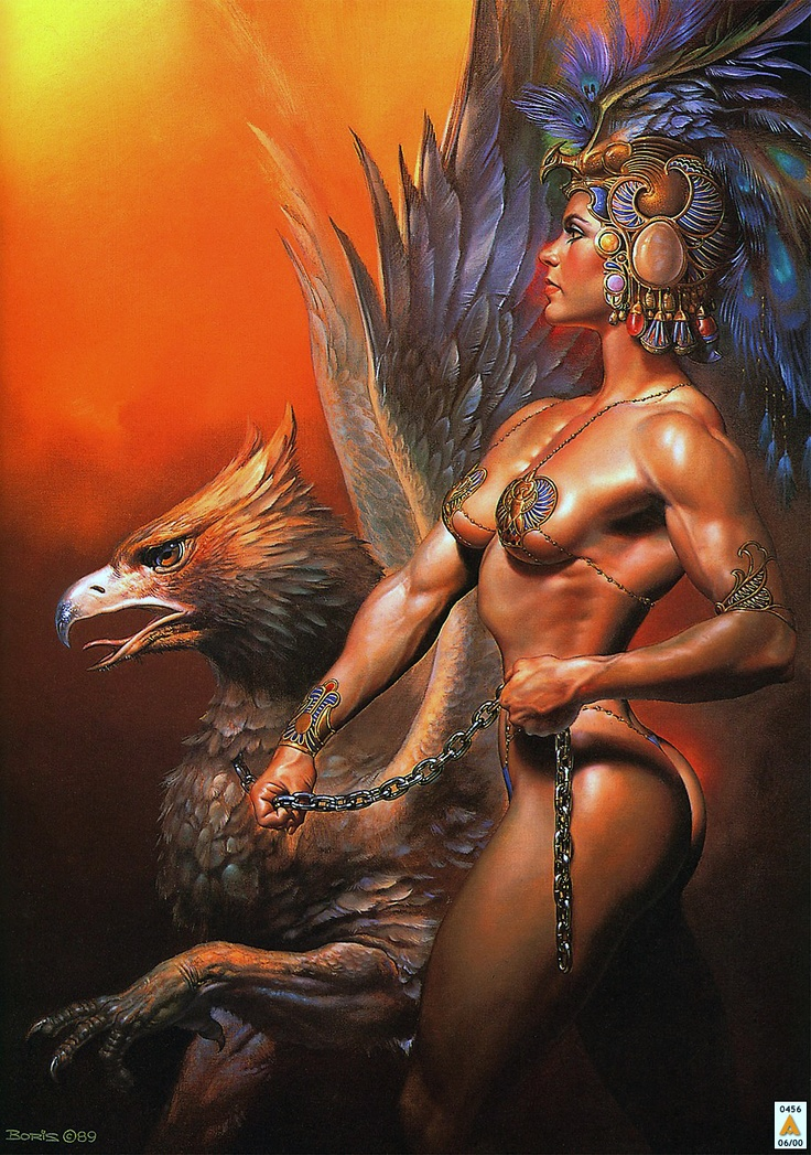 Body of work 4 - Boris Vallejo artwork