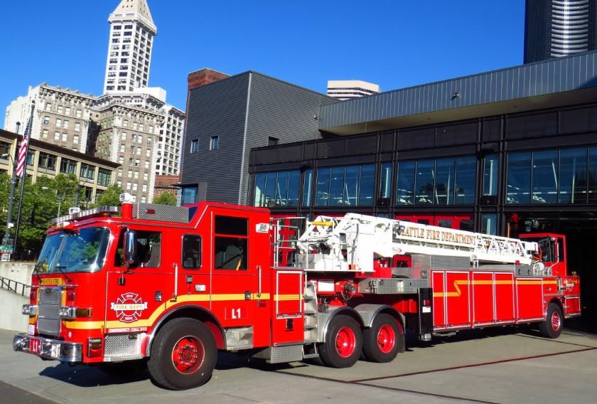 Hot in here - fire truck