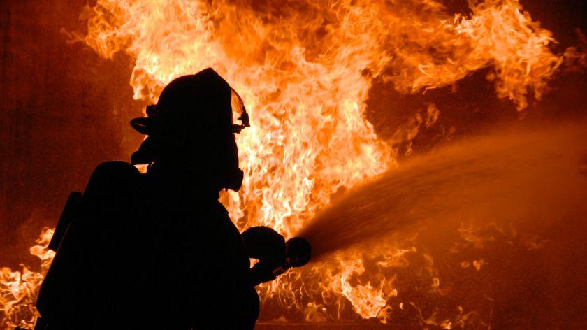 Hot in here - fire